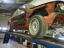 Restauratie BMW E30 325i Coupe